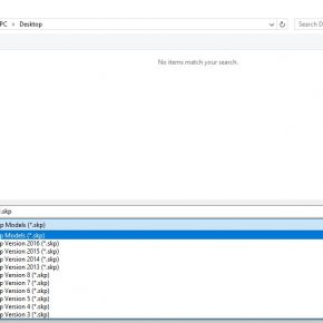 Sketchup: online converter for Sketchup files
