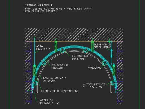 details of vaults / dettagli di volte